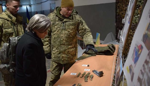 Донбас: Наєв продемонстрував делегації США докази збройної агресії РФ