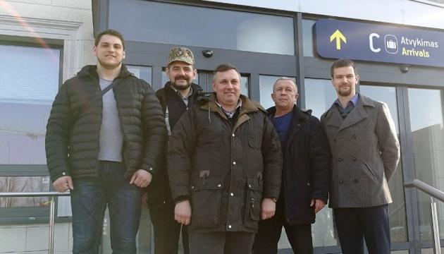 Литва прийняла на реабілітацію чергову групу поранених українських військових