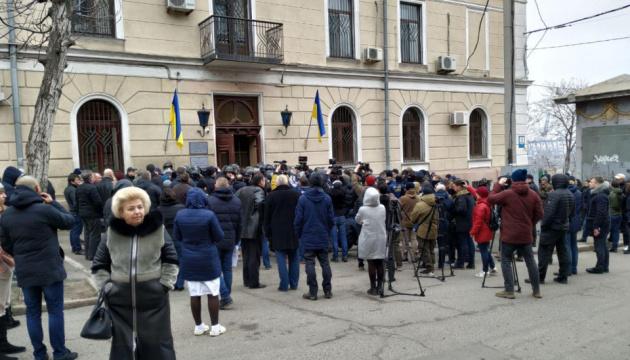 Одеський медуніверситет заблокували