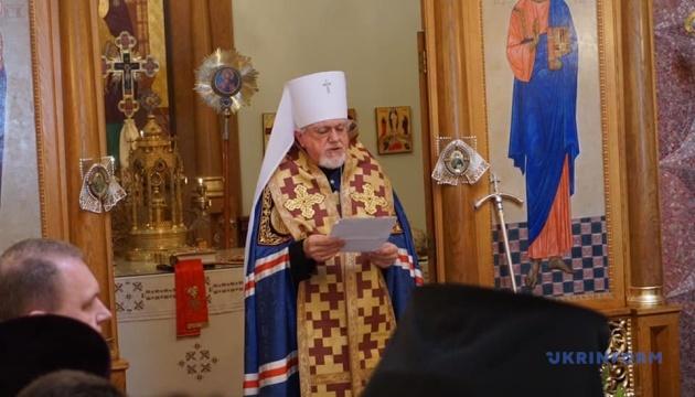 Українська православна церква у США відслужила панахиду за героями Небесної Сотні