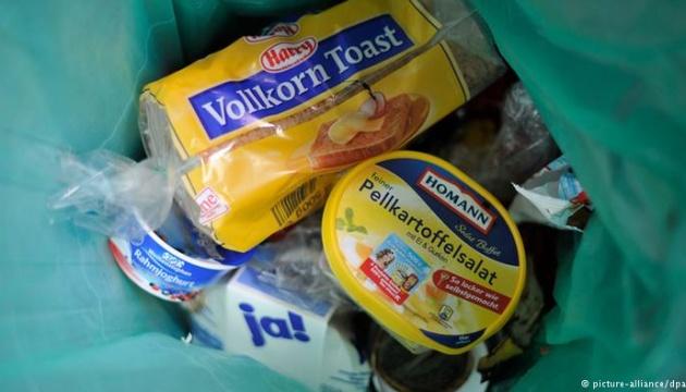 У Німеччині боротимуться з марнотратством їжі