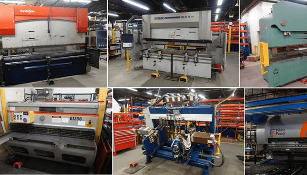 Industrial auctions for customers and businesses