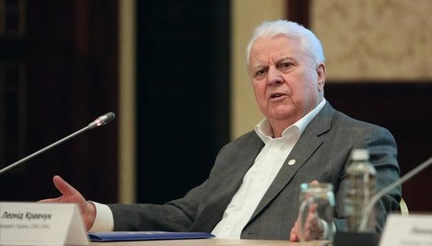 Kravchuk insta a la liberación mutua de los detenidos antes de fin de año