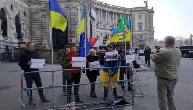 Зупиніть агресію: українці Відня нагадали ОБСЄ про злочини Росії