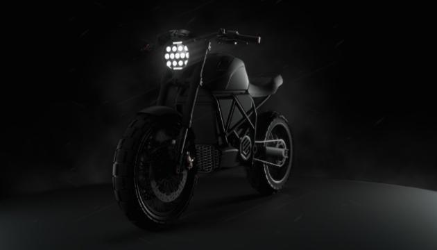 В Україні розробили перший потужний електромотоцикл