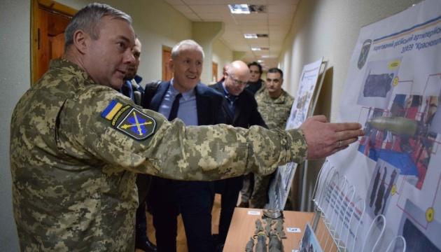 Наєв розповів спостерігачам ОБСЄ про порушення окупантами