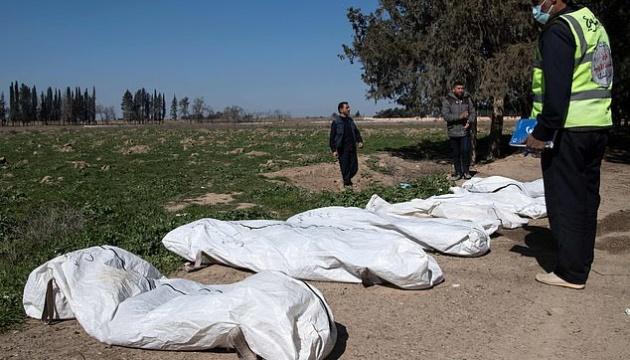 У Сирії знайшли поховання трьох з половиною тисяч жертв ІДІЛ