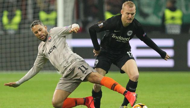 El Shakhtar pierde 1-4 ante el Eintracht Fráncfort