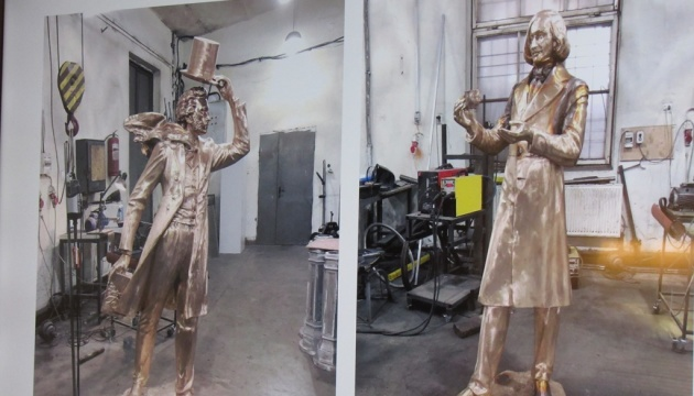 На новому туристичному маршруті в Полтаві з'являться бронзові Гоголь та Пушкін