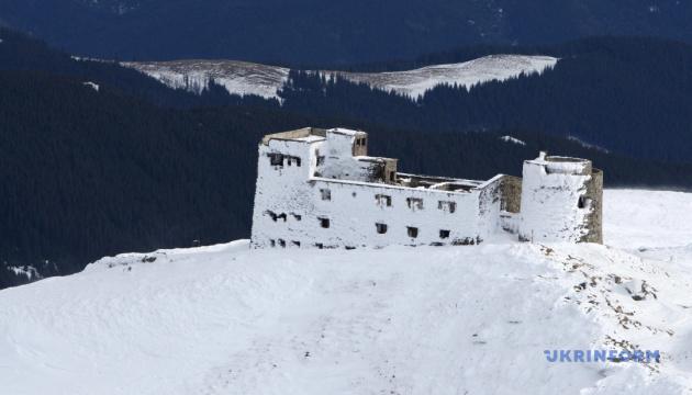 神秘的喀尔巴阡山:触摸白象