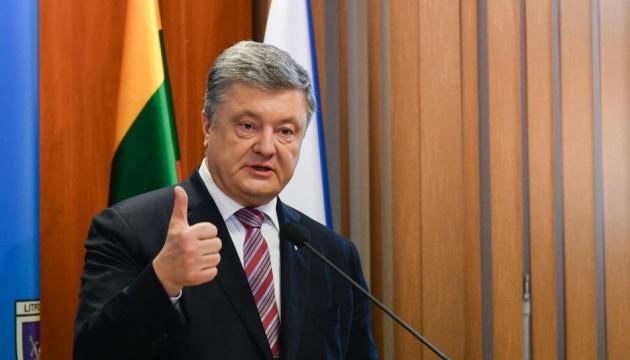 НАТО має збільшити присутність своїх кораблів у Чорному морі — Порошенко