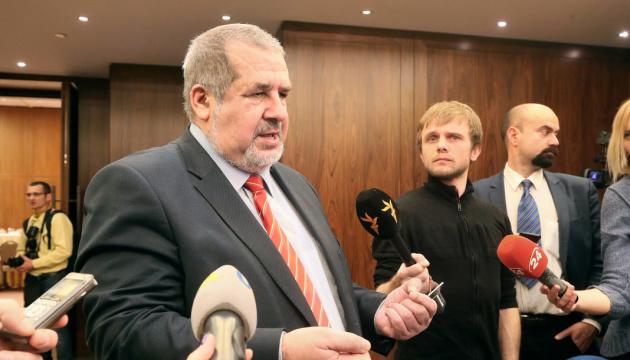 Чубаров - про зустріч із Зеленським: Сподіваюся, що Президент нас почув