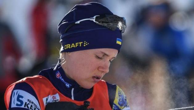 Меркушина стала восьмой в гонке преследования на чемпионате Европы по биатлону в Беларуси