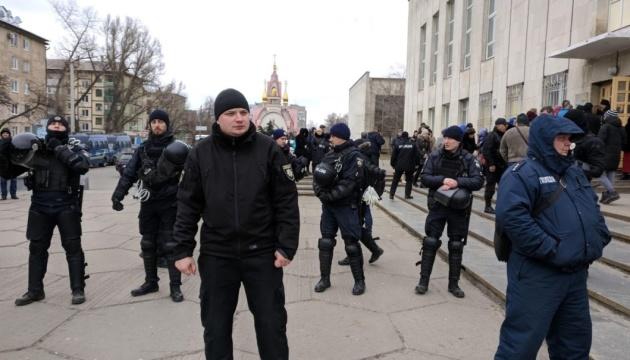 У Дніпрі журналістів та спостерігачів ОПОРИ не впустили на зустріч із Вілкулом