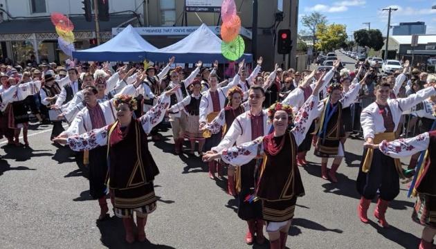 Ukrainians in Australia represent Ukraine at Pako Festa 2019