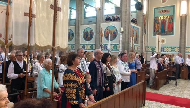 В Австралії відбулися панахиди і молебні на вшанування пам'яті Героїв Революції Гідності