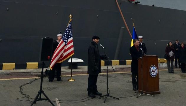 Волкер в Одесі подякував ВМС США за підтримку України