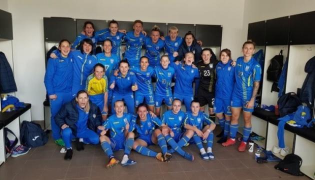 Футбол: жіноча збірна України стартувала з перемоги на турнірі в Хорватії