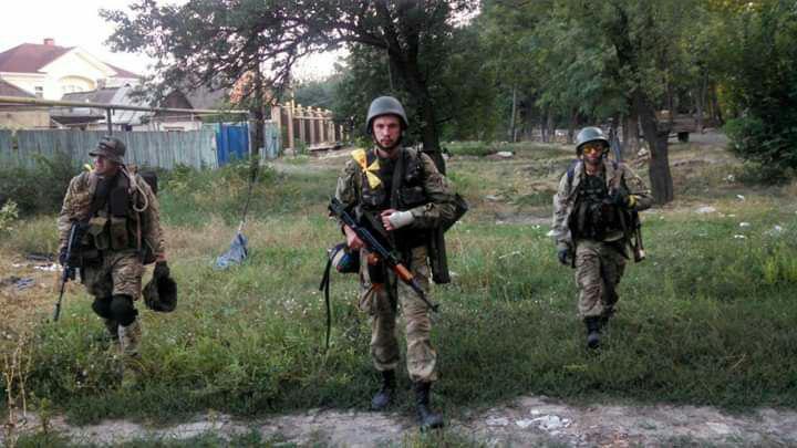 Група Євгена повертається з бойового виходу