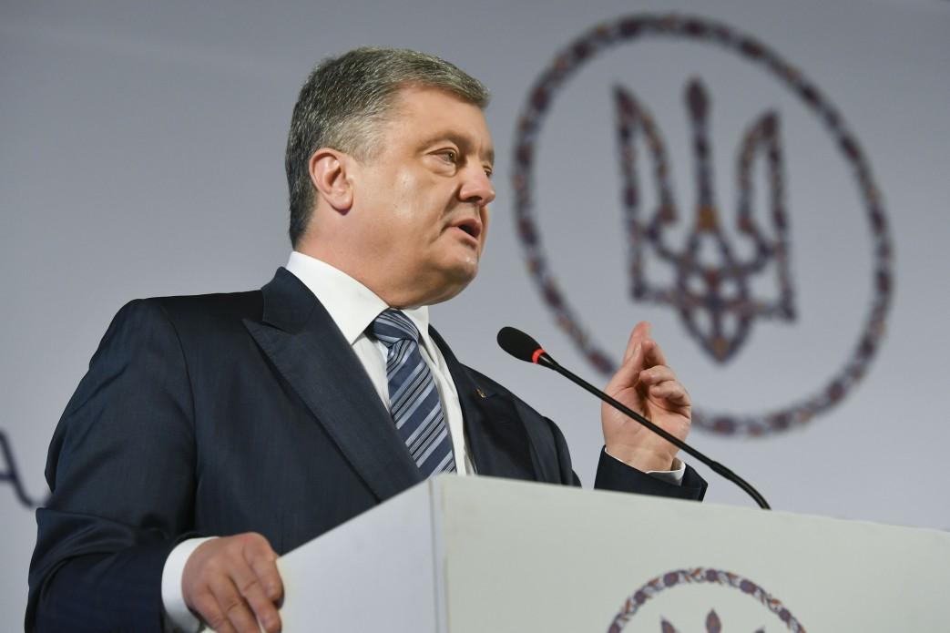ペトロ・ポロシェンコ候補(現職大統領)