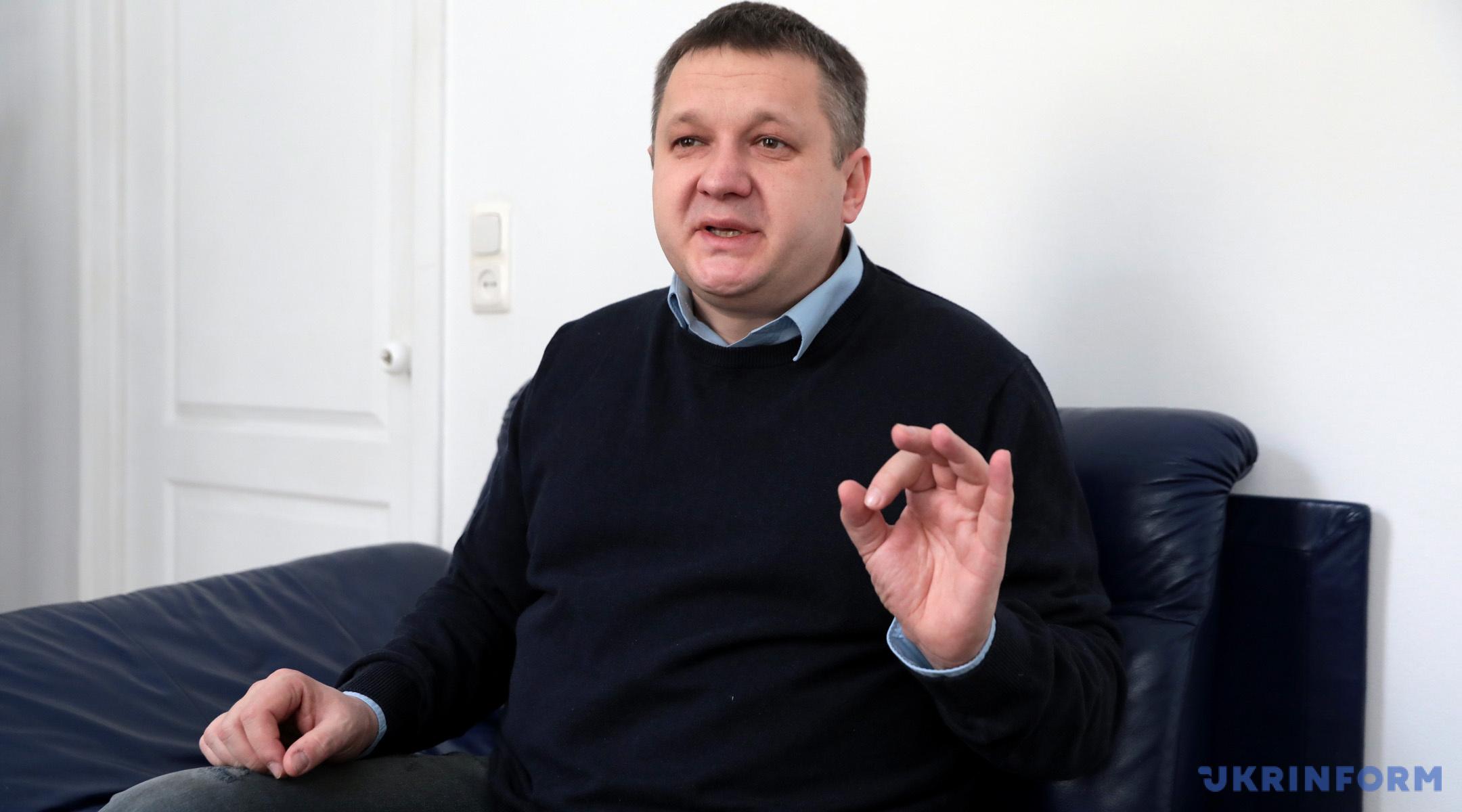 Олексій Кошель, голова КВУ