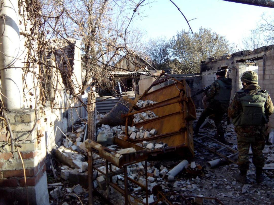 Група Сергія на бойовому виході (околиці Донецька, осінь 2014 року)