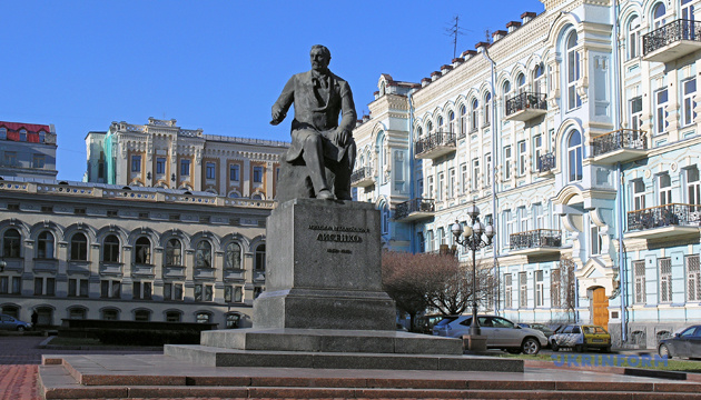 Пам'ятник Миколі Лисенку у Києві. Фото: Укрінформ