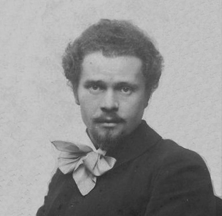 Іван Труш, студент Краківській академії мистецтв