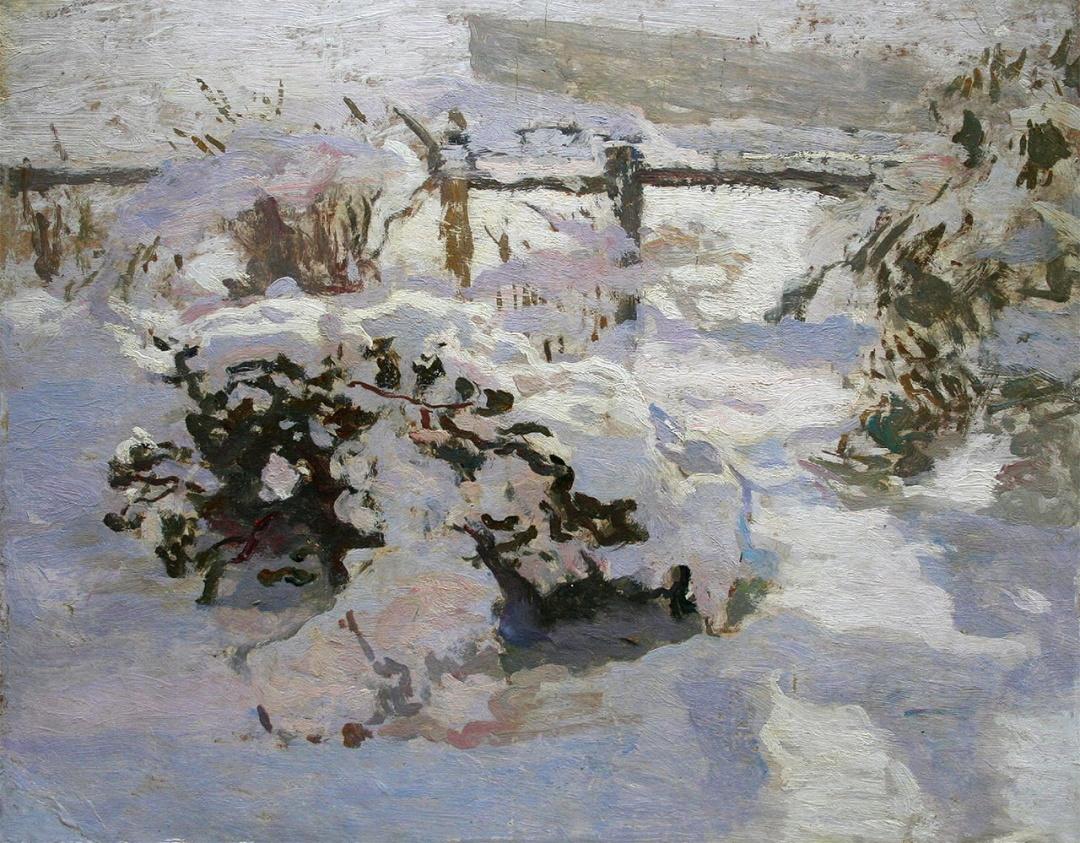 В обіймах снігу