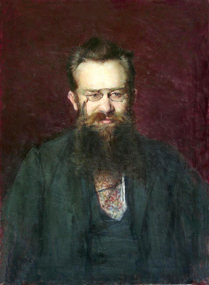 Портрет професора Михайла Грушевського. 1900 р.