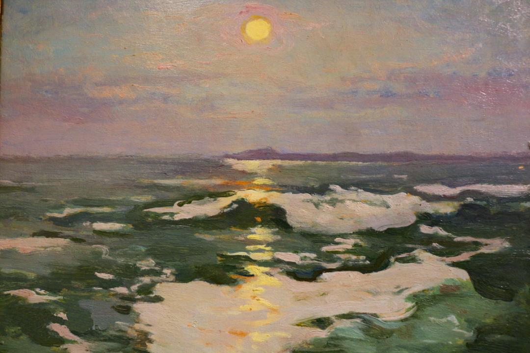 Місячна ніч над морем, 1925 р.
