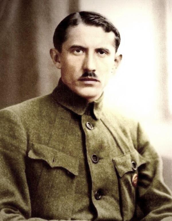 8-командувач Окремого загону Січових Стрільців  Євген Коновалець, Київ, 1918 р.