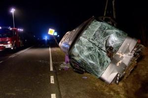 Un bus ukrainien accidenté en Pologne: il y a des morts et des blessés