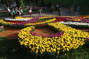 На Певческом поле откроется выставка цветов «Дикие животные»