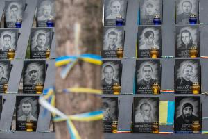 У Києві осквернили пам'ятник Небесній Сотні, поліція відкрила справу