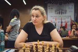 Інна Гапоненнко вийшла в одноосібні лідери на чемпіонаті Європи з шахів