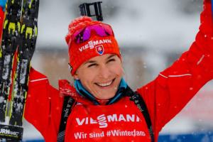 Словачка Кузьміна виграла спринт на заключному етапі Кубка світу з біатлону