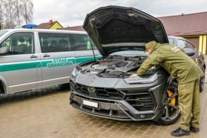 10 Mio. UAH schwere Lamborghini an Grenze zur Ukraine aufgehalten