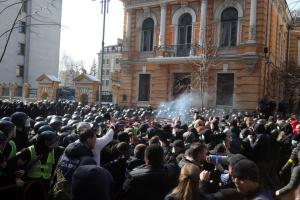 Посольство США советует избегать центра Киева в субботу в связи с митингом Нацкорпуса