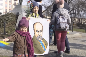 У Варшаві вшанували пам'ять Тараса Шевченка