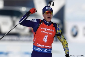 Ukrainian Dmytro Pidruchnyi wins gold at Biathlon World Championships