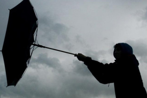Рятувальники попереджають про небезпечні пориви вітру