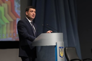 PM Groysman: Agricultural products should account for quarter of Ukraine's GDP at least