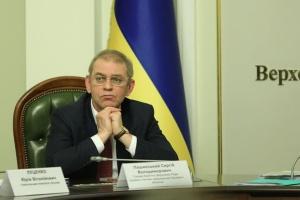 La Oficina Estatal de Investigaciones anuncia sospecha a Pashynsky