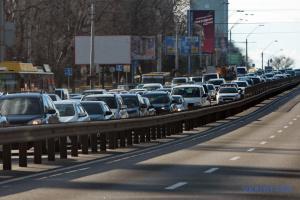 На в'їздах до Києва через дебати - великі затори