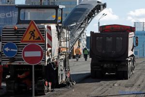 Le démantèlement du pont Choulyavsky continue à Kyiv