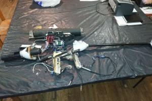 Les militaires ukrainiens ont abattu un drone russe aux abords d'Avdiivka