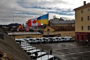 Ukrainische Militärpolizei bekommt 56 Ford-Fahrzeuge von Kanada