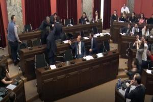 У парламенті Грузії побилися депутати