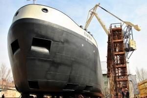 У Миколаєві спустили на воду 110-метровий танкер-хімовоз EMMA